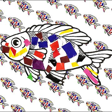Rainbow Fish 1 by Morgan5