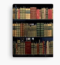 Yale Beinecke Rare Books and Manuscripts Canvas Print
