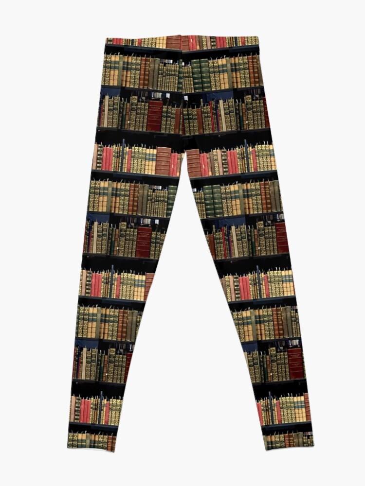 Alternative Ansicht von Yale Beinecke Seltene Bücher und Manuskripte Leggings