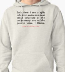 "Each time i...""Sonai Sotomoyar"" Inspirational Quote Pullover Hoodie"