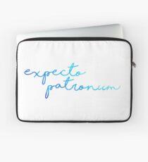 Blue Expecto Patronum Laptop Sleeve