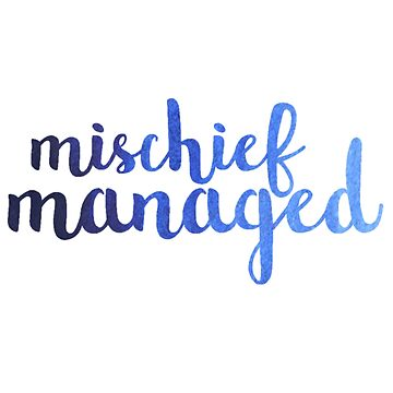 Ombre Mischief Managed by annmariestowe
