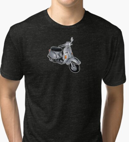 Scooter T-shirts Art: P200e vintage scooter Tri-blend T-Shirt