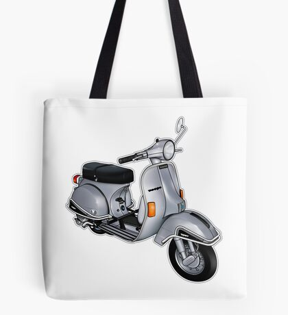 Scooter T-shirts Art: P200e vintage scooter Tote Bag