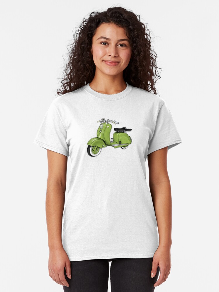 Alternate view of Scooter T-shirts Art: LD 150 - 1955 vintage scooter illustration Classic T-Shirt