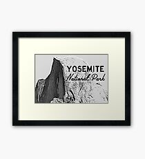 Yosemite Half Dome Framed Print
