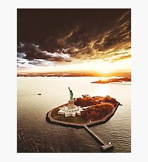 statue of liberty in nyc Photographic Print