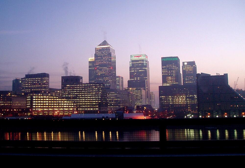 London Canary Wharf by Chris101