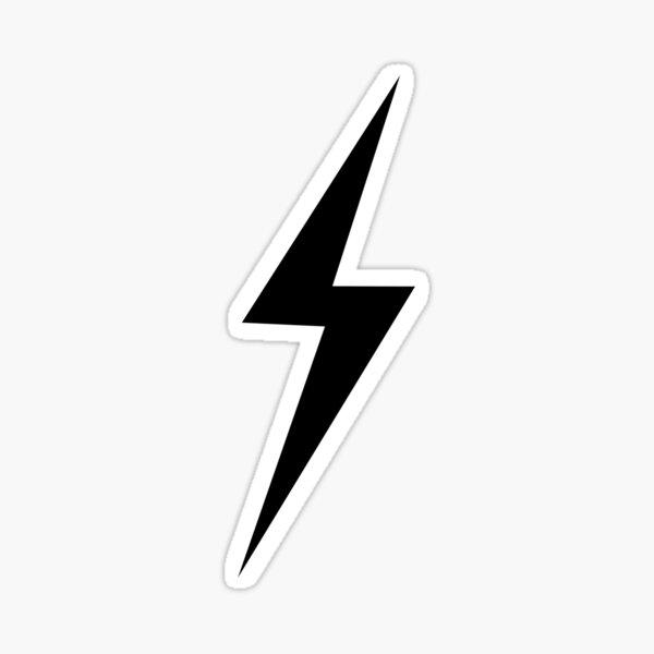 Lightening Bolt Sticker