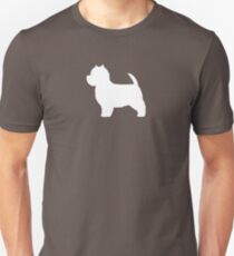 West Highland White Terrier Silhouette(s) T-Shirt