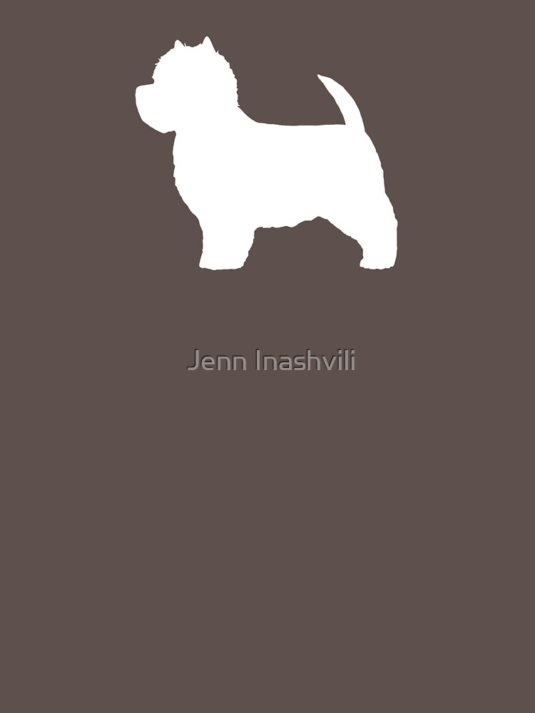 West Highland White Terrier Silhouette(s) by ShortCoffee