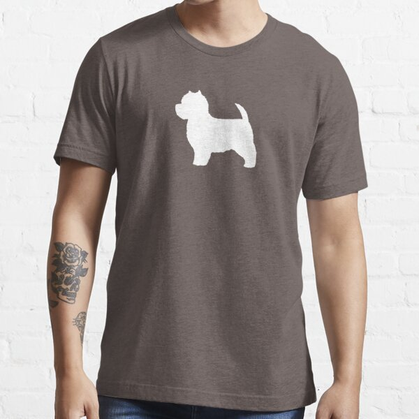 West Highland White Terrier Silhouette(s) Essential T-Shirt