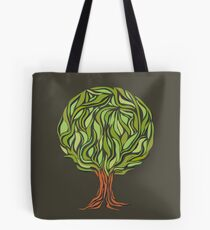 Illusion  tree Tote Bag