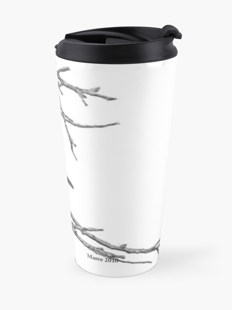 Alternate view of Why would you leave me...? Travel Mug
