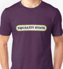 Equality State   Retro Badge T-Shirt