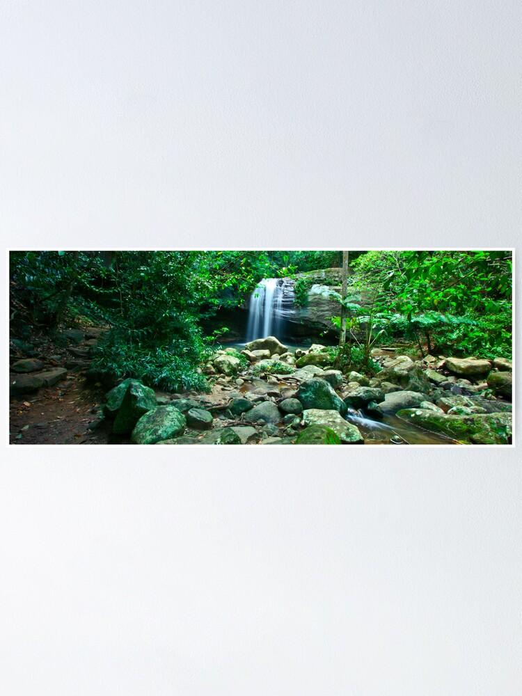 Alternate view of Serenity Falls  Poster