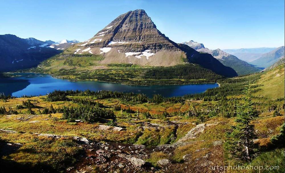 Glacier NP, view 3 by artsphotoshop