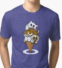 Kitten Cone Tri-blend T-Shirt