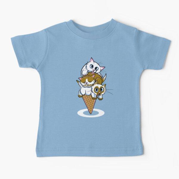 Kitten Cone Baby T-Shirt