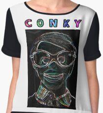 Conky Neon (Trailer Park Boys) Women's Chiffon Top