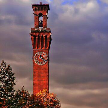 Clock Tower - Waterbury, Connecticut by dmarciniszyn