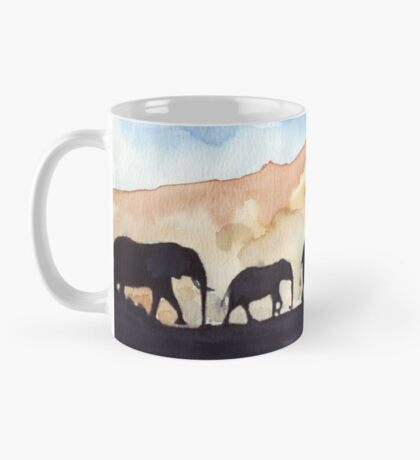 Silhouettes of Africa  Mug