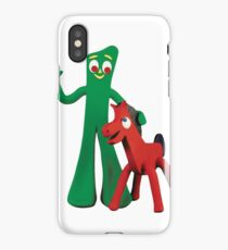 Gumby and Pokey iPhone Case