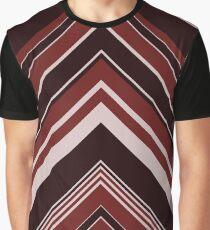 Geometric Geode - Red/Black Graphic T-Shirt