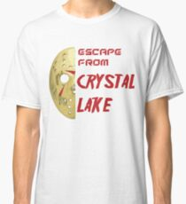 Jason Voorhees Friday 13th escape from Crystal Lake Classic T-Shirt