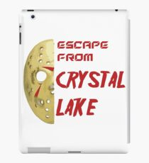 Jason Voorhees Friday 13th escape from Crystal Lake iPad Case/Skin