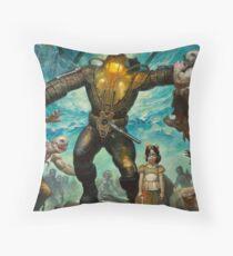"Bioshock 2: ""Delta"" Throw Pillow"