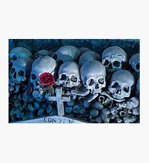 Fontanel cemetery Photographic Print