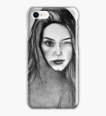 I Am Machine, 2017, 50-70cm, graphite crayon on paper iPhone Case/Skin