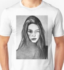 I Am Machine, 2017, 50-70cm, graphite crayon on paper T-Shirt