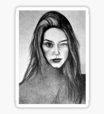 I Am Machine, 2017, 50-70cm, graphite crayon on paper Sticker