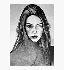 I Am Machine, 2017, 50-70cm, graphite crayon on paper Photographic Print