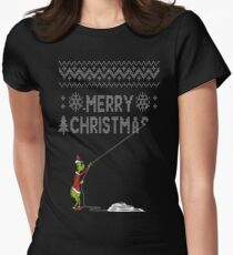 Stealing Christmas! Women's Fitted T-Shirt