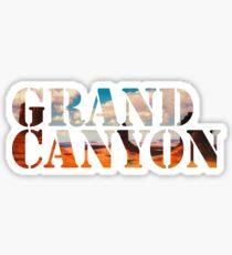 Grand Canyon, National Park. Arizona. USA, America Sticker