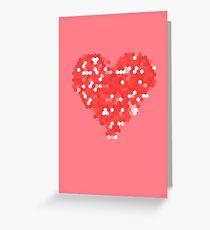 Pixel Love Greeting Card