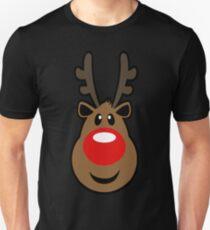 Rudolph Reindeer Unisex T-Shirt