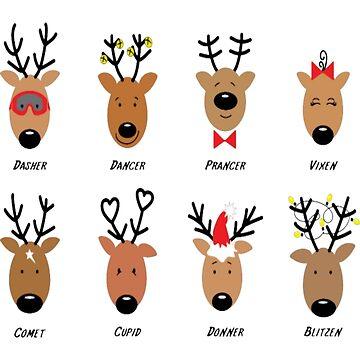 Santa's Reindeer by Felixsc