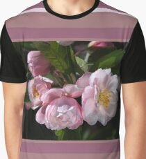 Crabapple Flowers Attract Bees Graphic T-Shirt