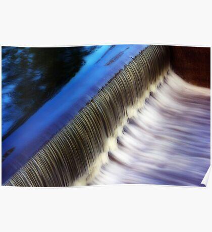 River Weaving Poster