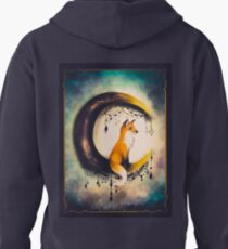 Moon and fox? Pullover Hoodie