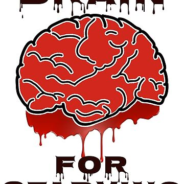 Free Brain for Starving Zombie by ezcreative