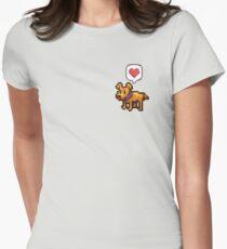 A Good Boy Women's Fitted T-Shirt