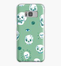 Pattern of skulls Samsung Galaxy Case/Skin