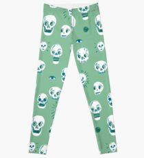 Pattern of skulls Leggings