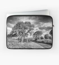 Brecon Beacons Black and white Laptop Sleeve