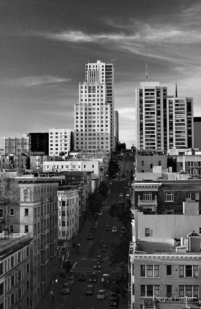 Jones Street - San Francisco by Deyne Foster